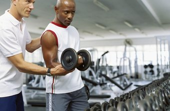 Standing dumbbell curls help to build your biceps.