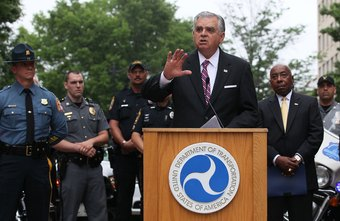 Seat belt use was a talking point for Transportation Secretary Ray LaHood at a
