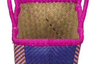 Crafting styles for handbags include weaving, sewing, crocheting, knitting and beading.