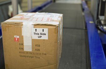 A shipping label can allow merchandise to be returned.