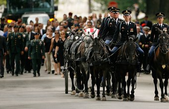 The members of the 3rd Infantry Regiment's Caisson Platoon have the last horse jobs in the Army.