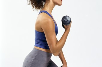 Using dumbbells with lunges can help you build thigh muscle fast.