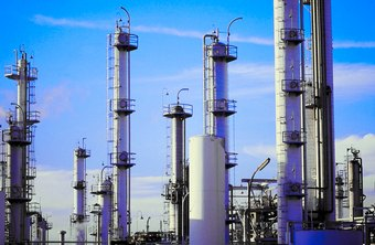 Chemical engineers design the catalytic reaction units at refineries.