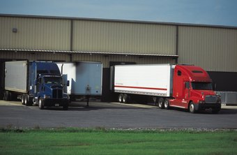 Rolling inventory is stored in trailers for easy shipping.