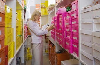 A market research report includes internal strengths, such as inventory storage space.