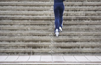 Avoid doing your workout on icy or wet stairs to avoid injury.