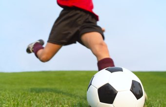 Soccer tryouts include drills and small-sided games.