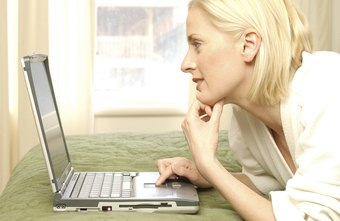 Make sure your laptop's air vents are not blocked when you use it on the bed or floor.