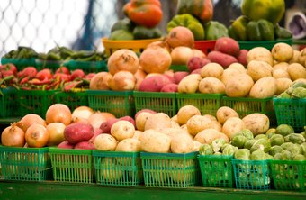 Farmers markets brim with colorful local produce.