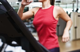 Running on the treadmill can help you burn calories.