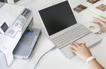 Modern networking technology allows you to print from your laptop to a printer that is not physically attached to it.