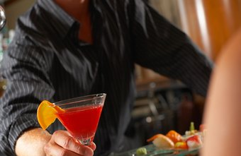 Bartenders often develop friendly relationships with regular customers.