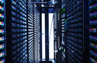Data warehousing manages large amounts of data.