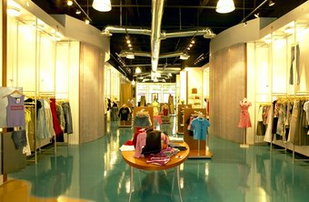 Lighting significantly affects the look and feel of a retail store.