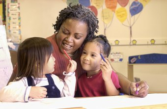 Preschool teachers help give children a solid foundation for learning.
