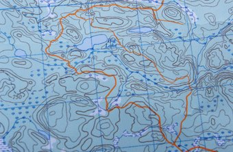 Latitude and longitude lines are meant to mirror those on traditional paper topographical maps.