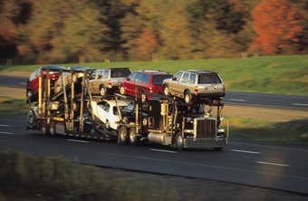 Most car transportation is accomplished by a driver hauling multiple vehicles.