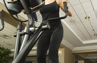 Striding forward and backward on the elliptical gives you a full-body workout.