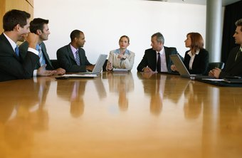 Top-level purchasing managers work with other high executives.