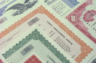 Common stock certificates indicate par value.