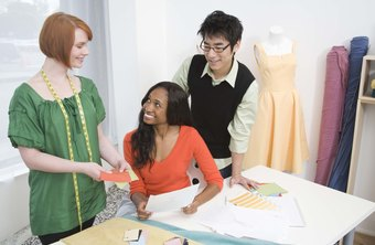 Some dressmakers become experts at creating garments based on drawings or sketches.