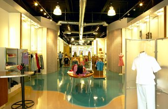 Consider the flow of your customer traffic when designing merchandising floor plans.
