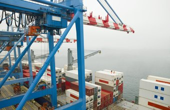 Shipping cargo is a major aspect of business logistics.