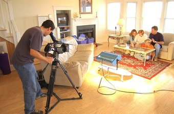 Many YouTube partners shoot their videos in a home environment.