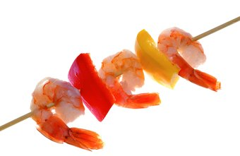 Shellfish like shrimp contain a low concentration of mercury.