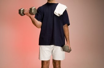 Lifting weights can help you burn calories.