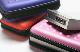 External hard drives provide additional storage for your business files.