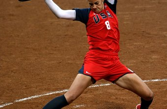 Fast-pitch star Cat Osterman winding up..