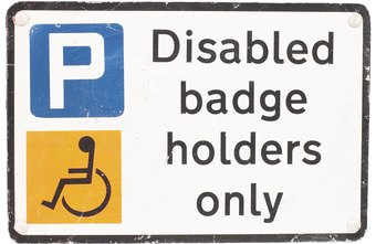 Many private businesses must provide parking for handicapped customers.