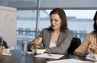 A company luncheon can be the perfect opportunity to improve employee morale.