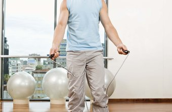 Jumping rope burns calories quickly, but is difficult to sustain for long duration.