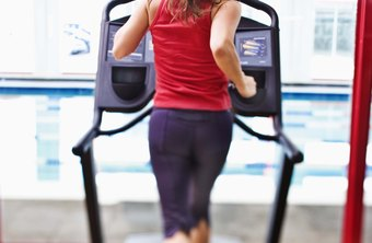 Setting the treadmill at an incline will increase the intensity.