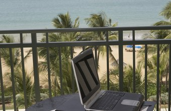It takes a little extra planning for effective outdoor laptop usage.