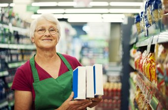Retail and grocery stores often hire inexperienced workers over 60.