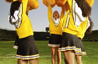 The cheerleading captain must demonstrate the attitude and actions she wants the rest of the squad to follow.