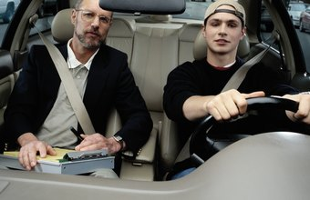 A driving instructor gives tests similar to a license examiner.
