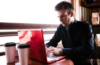 Some restaurants offer Wi-Fi Internet as a convenience for busy professionals.