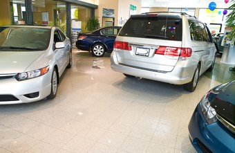 Vehicle dealers analyze an advertising campaign's effect on showroom sales.