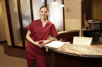 Dental receptionists earn upward of $34,000 a year as of 2012.