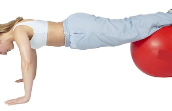Stability-ball decline pushups are particularly challenging.