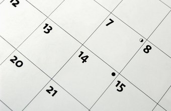 How to Create a Yearly Calendar in Excel | Chron com