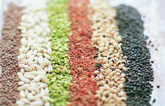 Lentils and beans are foods you'd typically avoid on a low-carb diet.