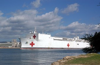 Navy nurses may be stationed in a clinic, hospital or hospital ship.