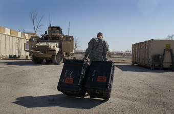 Army S4 soldiers issue and deliver supplies and equipment.