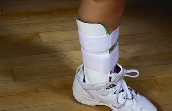Ankle guards limit movement in the ankle joint.