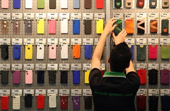 An iPhone case can personalize your phone.